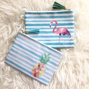 Handbags - JUST IN! Little Zipper Top Pouch Set